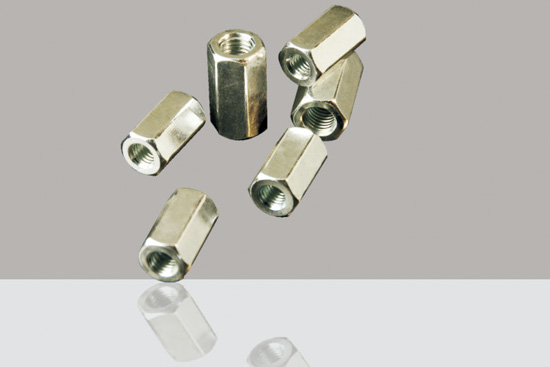 DIN 6334 Hexagon long nut 1
